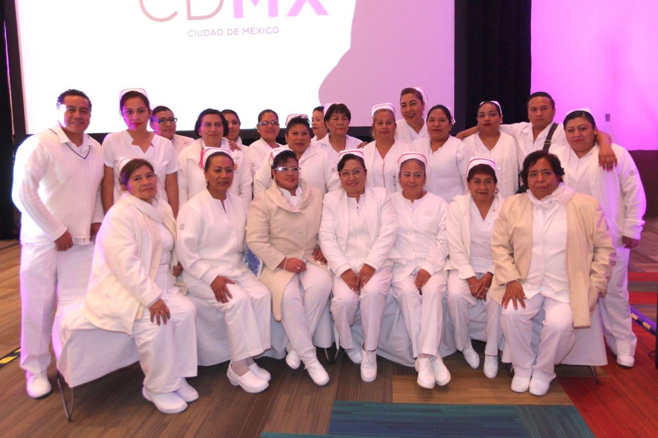 Cuenta CDMX con cuerpo de enfermería de alto nivel