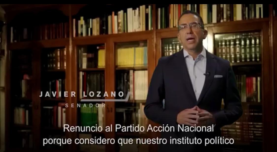 JAVIER LOZANO SE VA DEL PAN Y ACUSA A ANAYA DE DICTADOR