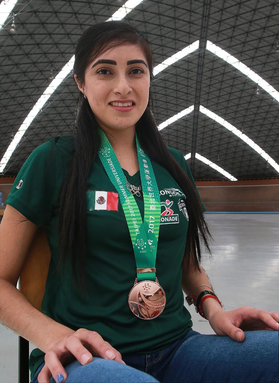 Itzel Manjarrez sueña con Juegos Centroamericanos