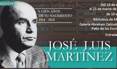 Celebrarán el centenario del nacimiento de José Luis Martínez