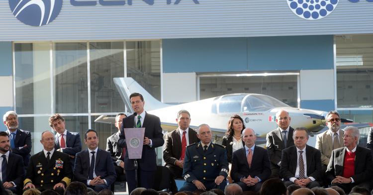 Inauguración edificio del Centro Nacional de Tecnologías Aeronáuticas