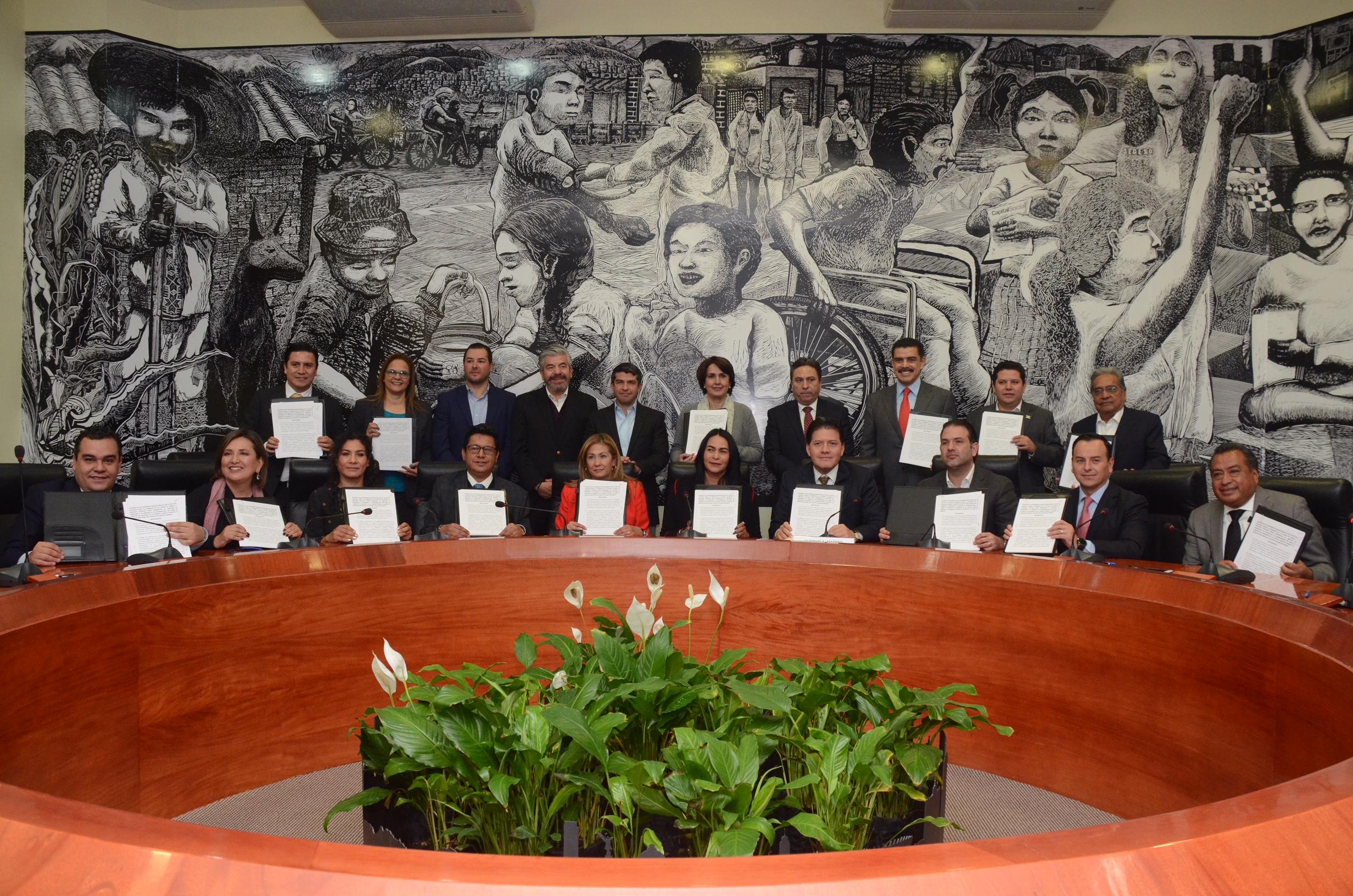 Gobiernos delegacionales reconocen el Pacto de Civilidad promovido por el GOBCDMX