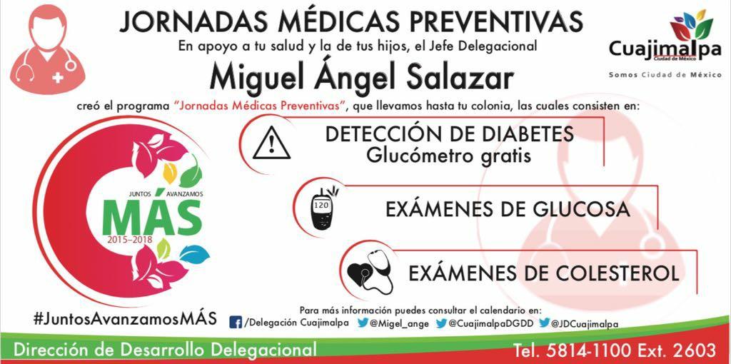 Próximamente se reanudaran las jornadas medicas preventivas y especializadas GRATUITAS