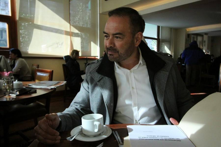 ANTONIO ALEMÁN BUSCA UNA CURUL EN EL PRIMER CONGRESO DE LA CDMX