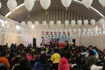 Cuajimalpa llevó a cabo entrega de juguetes en el Huizachito