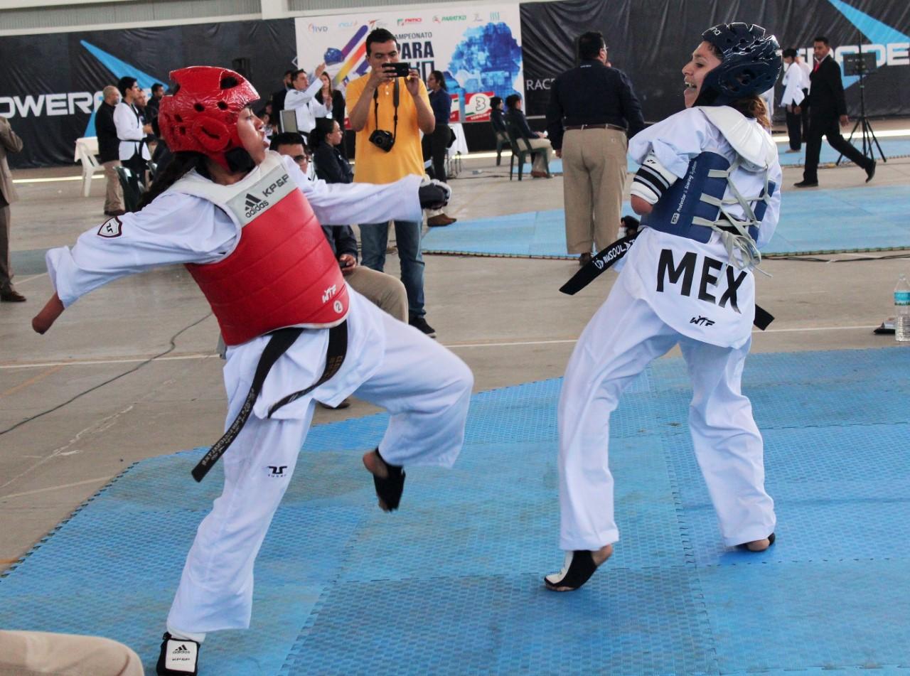 Medallistas mundiales revalidan liderazgo en Nacional de Para-Taekwondo 2018