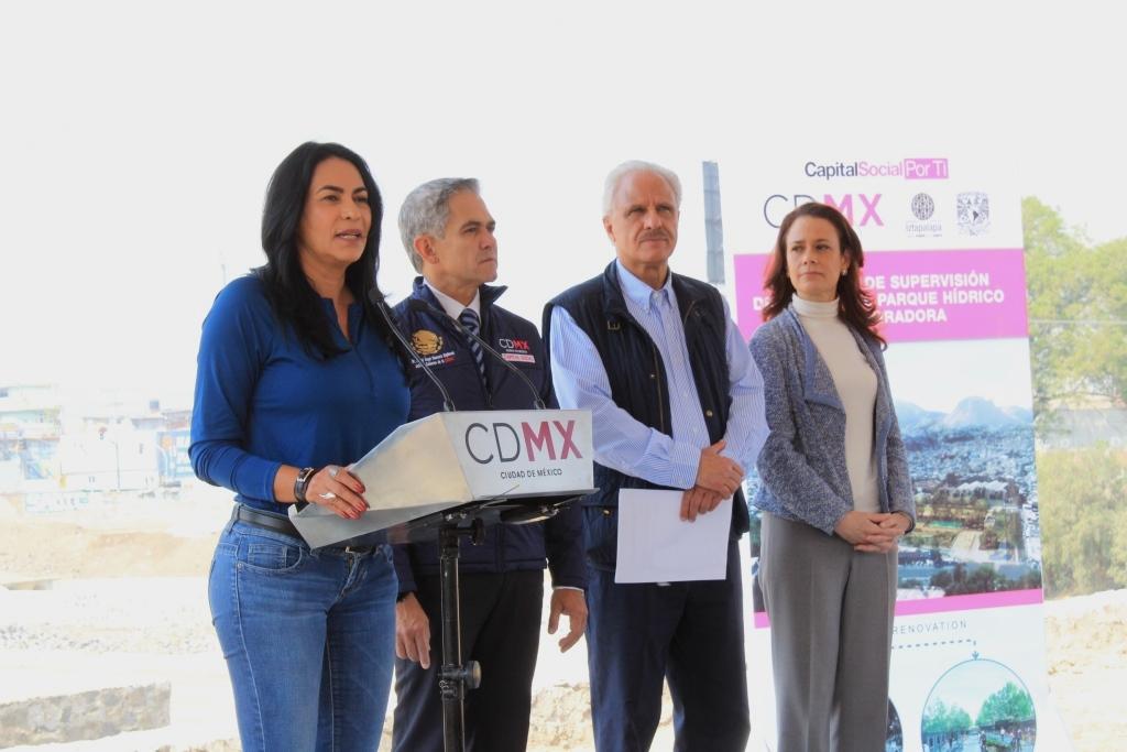 SERVIRÁ 500 AÑOS A LA CDMX EL PARQUE HÍDRICO LA QUEBRADORA, PRIMERO EN SU TIPO EN EL PAÍS