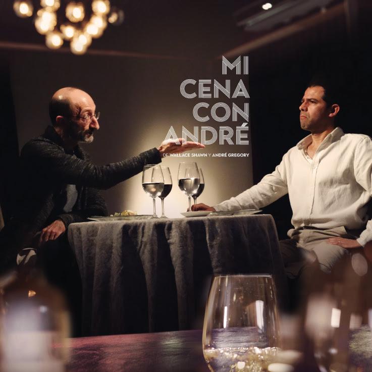 Hoy se estrena Mi cena con André, una conversación íntima entre bocadillos y copas de vino