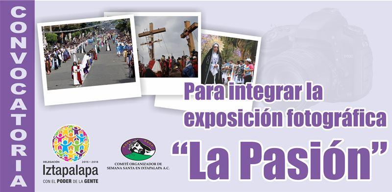 CONVOCAN IZTAPALAPA Y COSSIAC A CONCURSO DE FOTOGRAFÍA SOBRE LA PASIÓN DE CRISTO