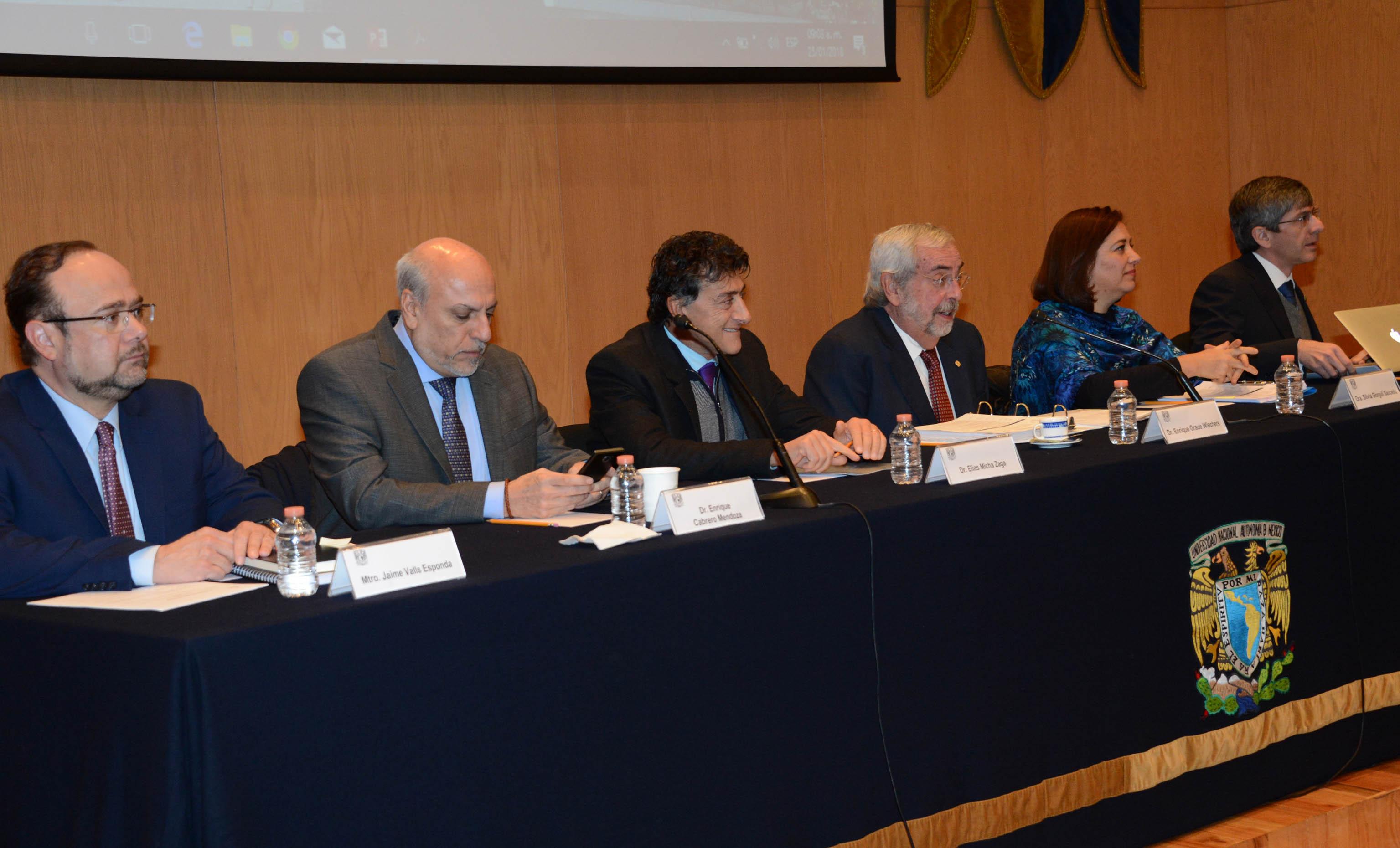 AVANZA EN LA UNAM AGENDA NACIONAL DE CIENCIA, TECNOLOGÍA E INNOVACIÓN