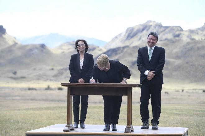 El Estado tiene el deber de valorar, preservar y potenciar la riqueza natural de la Patagonia: Bachelet