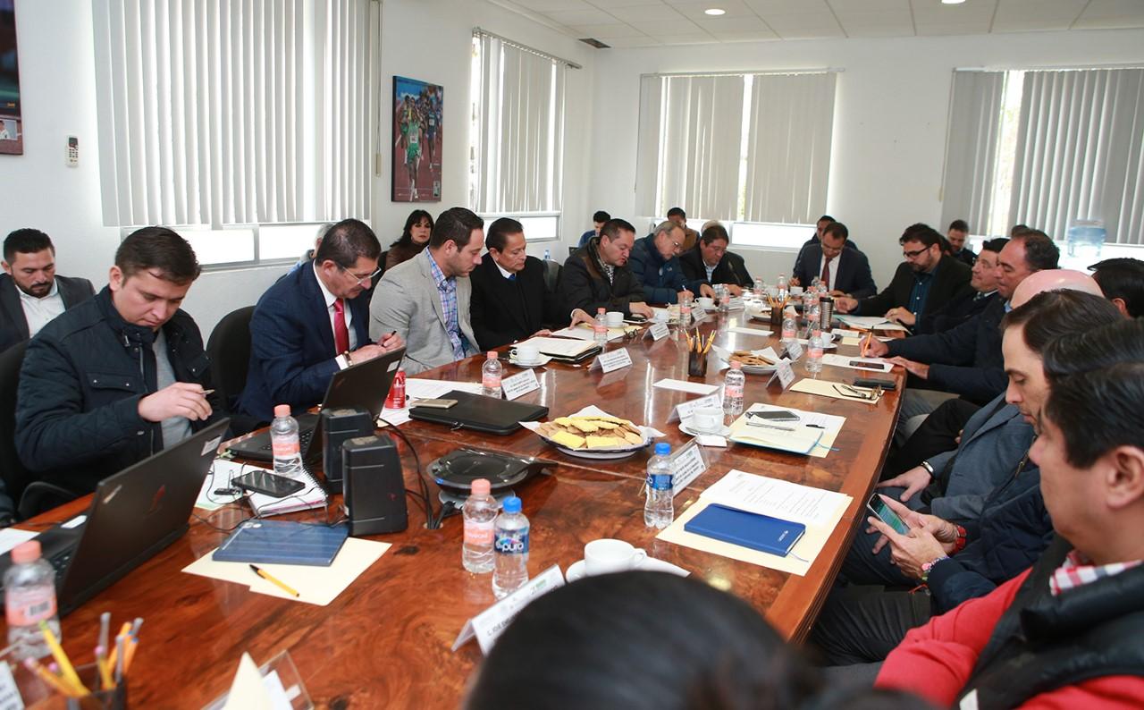 Se lleva a cabo primera reunión de trabajo rumbo a Olimpiada Nacional y Nacional Juvenil 2018