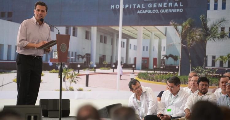 Hospital General de Acapulco y Proyecto de Saneamiento de las Zonas Marginadas del Valle de la Sabana