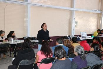 BRINDAN ATENCIÓN Y ORIENTACIÓN A JÓVENES EN EDAD ESCOLAR EN XOCHIMILCO