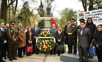 CONMEMORAMOS 106 ANIVERSARIO LUCTUOSO DEL GENERAL ALFARO