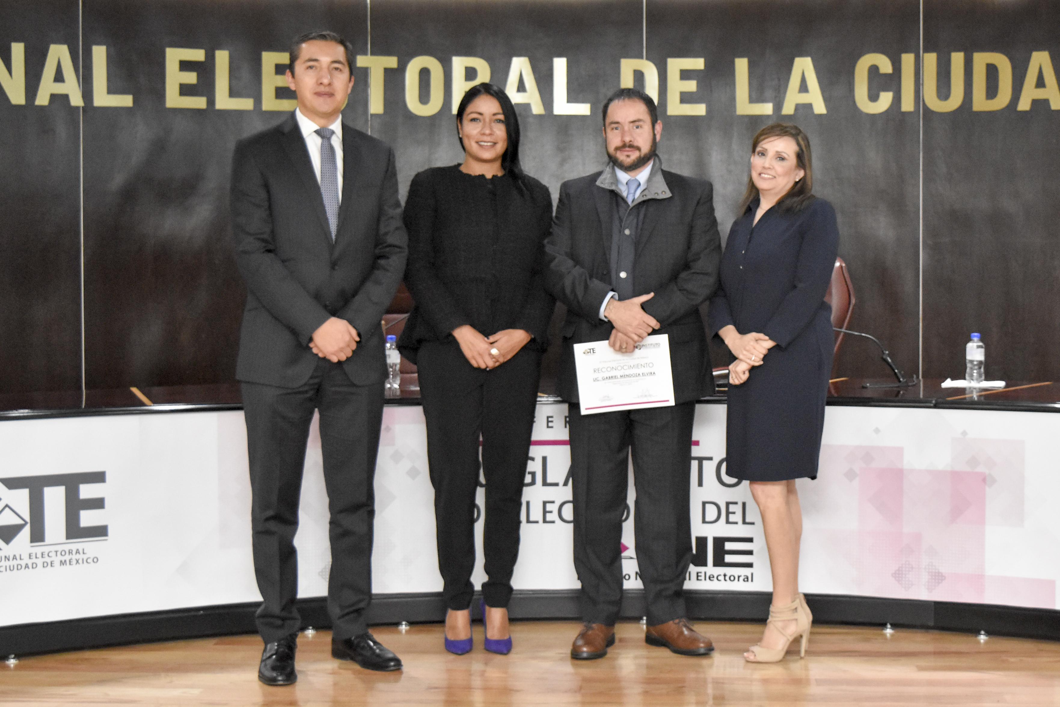 Busca TECDMX dar certidumbre a la ciudadanía en el proceso electoral