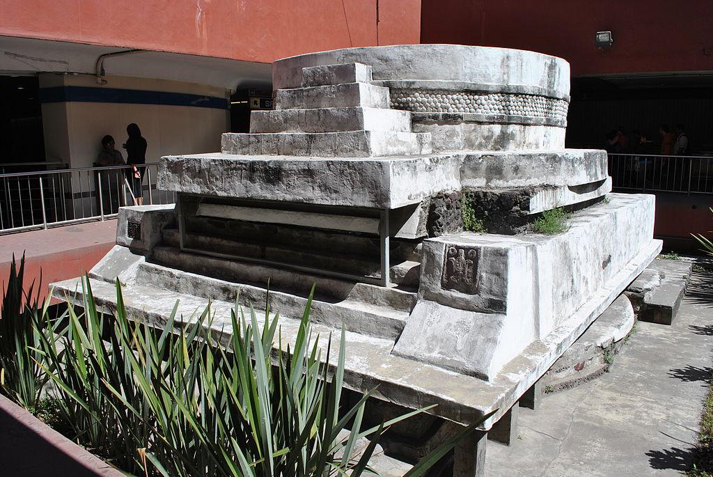 Concluyen trabajos de rehabilitación en monumento a Ehécatl