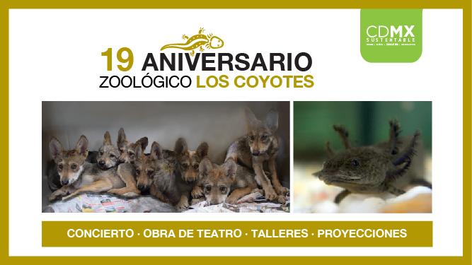Festeja 19 años Zoológico Los Coyotes