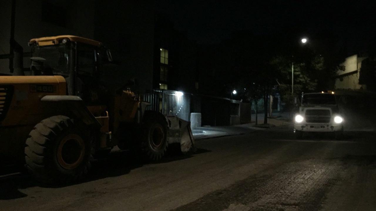 Mejores calles, reencarpetado en Bosque de Tabachines en Bosques de Las Lomas