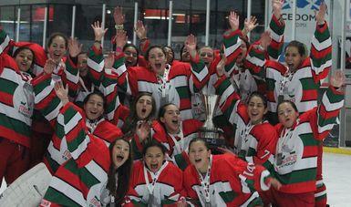 Termina Mundial femenil de hockey sobre hielo en CDMX