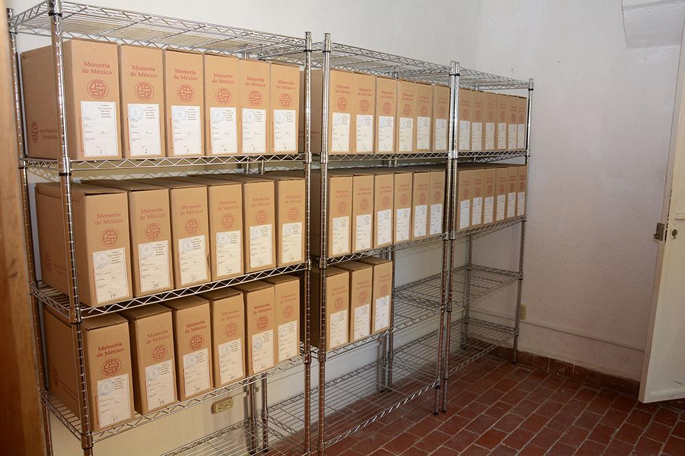 INAH reubica el archivo parroquial de Yecapixtla, en Morelos