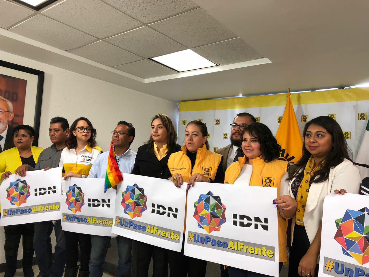 Miembros de IDN desconocen liderazgo de Alejandro Camacho y René Bejarano