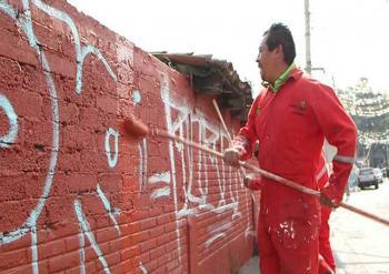 La delegación Cuajimalpa cuenta con un programa anti-graffiti