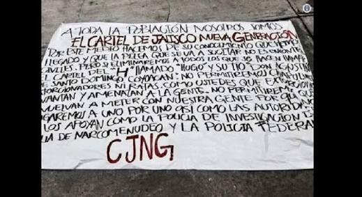 CRECE INCERTIDUMBRE EN LA CDMX POR NARCOMANTAS