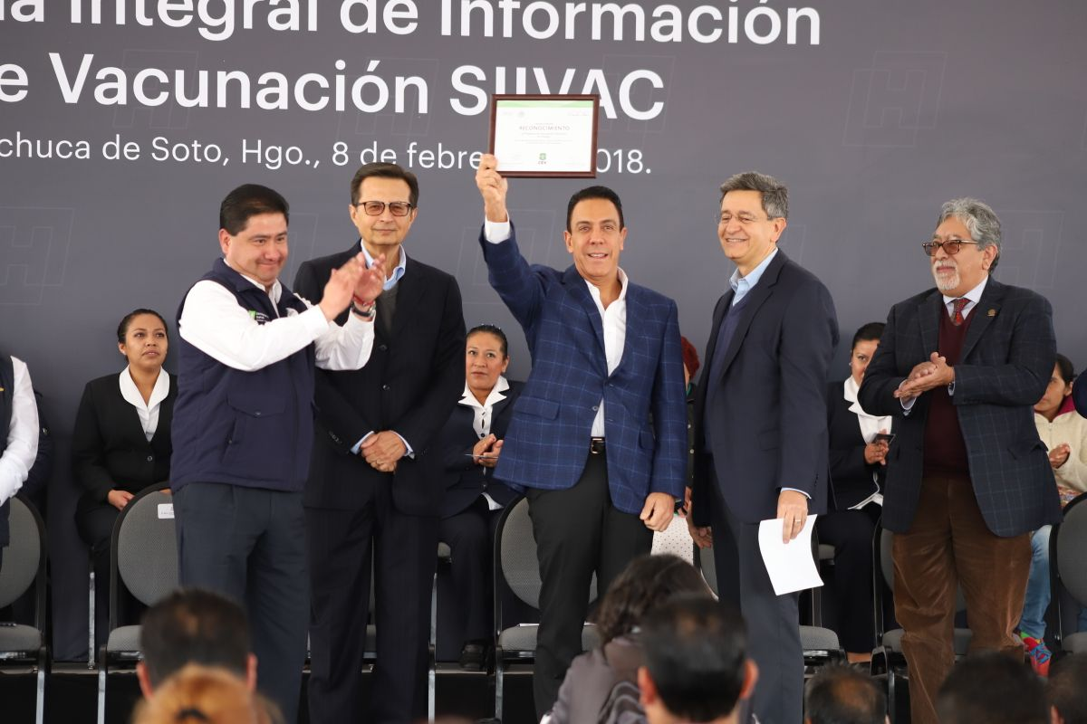 Hidalgo implementa cartilla de vacunación electrónica