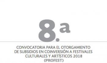 Emiten octava Convocatoria para apoyar a Festivales Culturales y Artísticos este 2018