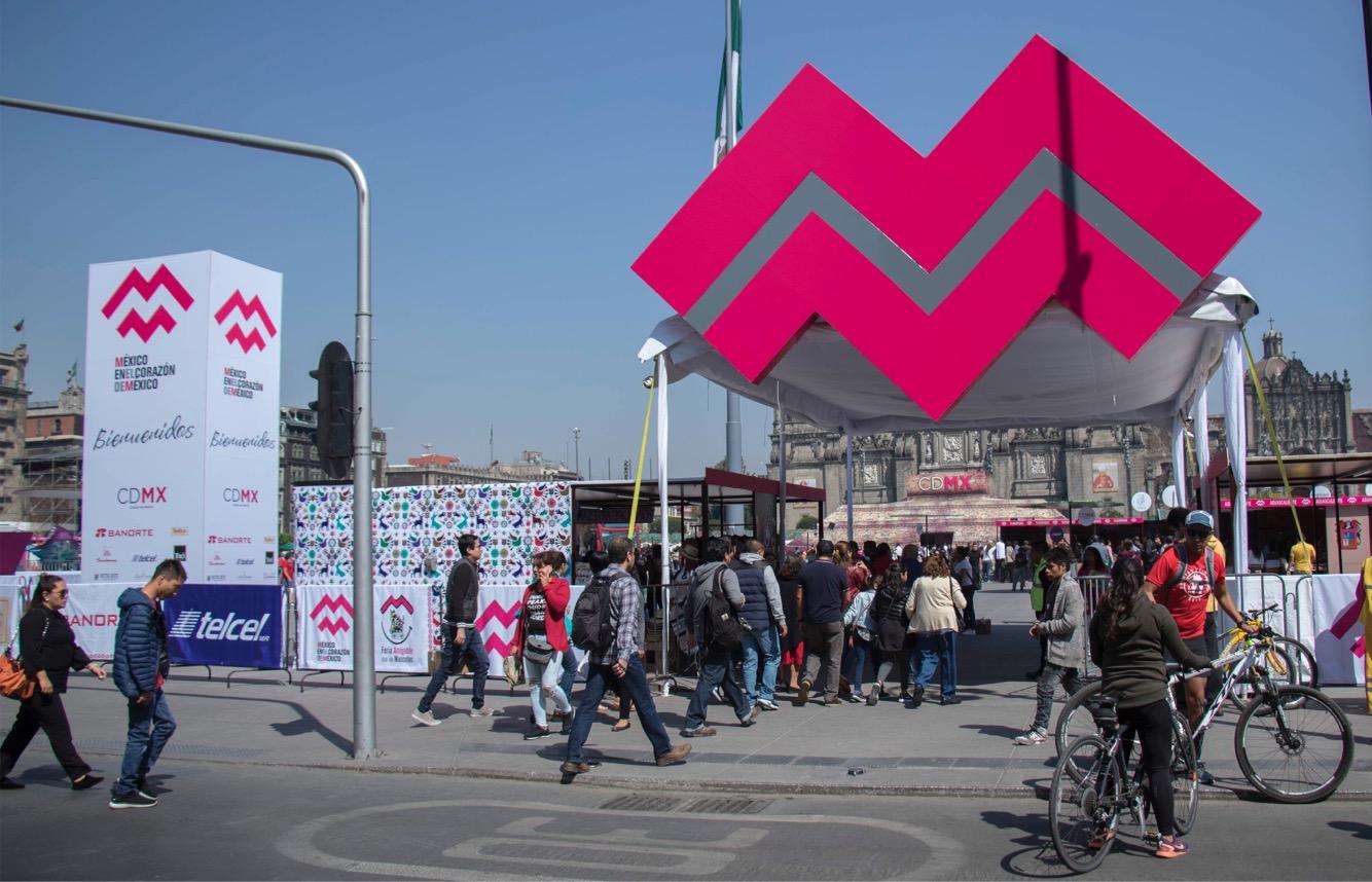 Asisten 180 mil personas en los primeros días del festival México en el Corazón de México