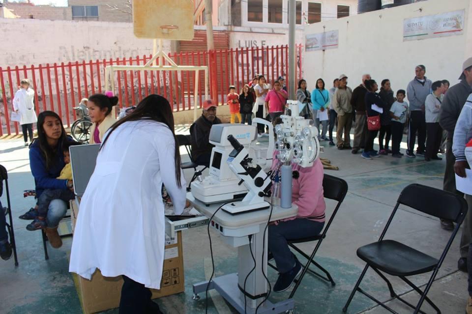 Jornadas Médicas Especializadas y Preventivas, estuvieron en el pueblo de San Lorenzo Acopilco