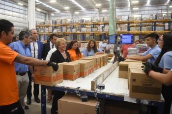 En estos últimos 4 años hemos puesto en marcha una transformación en la educación de Chile: Michelle Bachelet