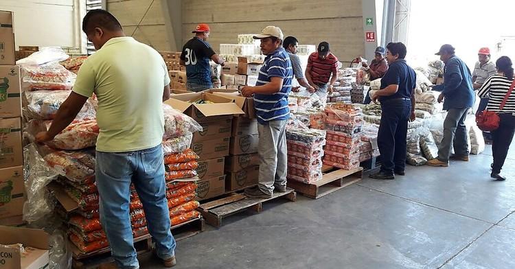 Sedesol apoya a las comunidades afectadas por el sismo en Oaxaca