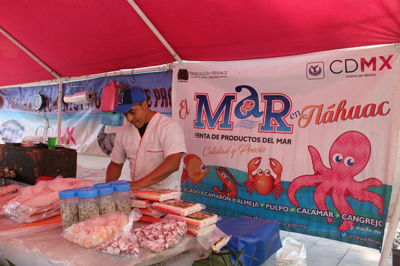 PROMUEVEN CONSUMO DE PRODUCTOS DEL MAR