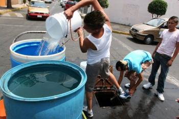 Se reestablece el suministro de agua en la CDMX