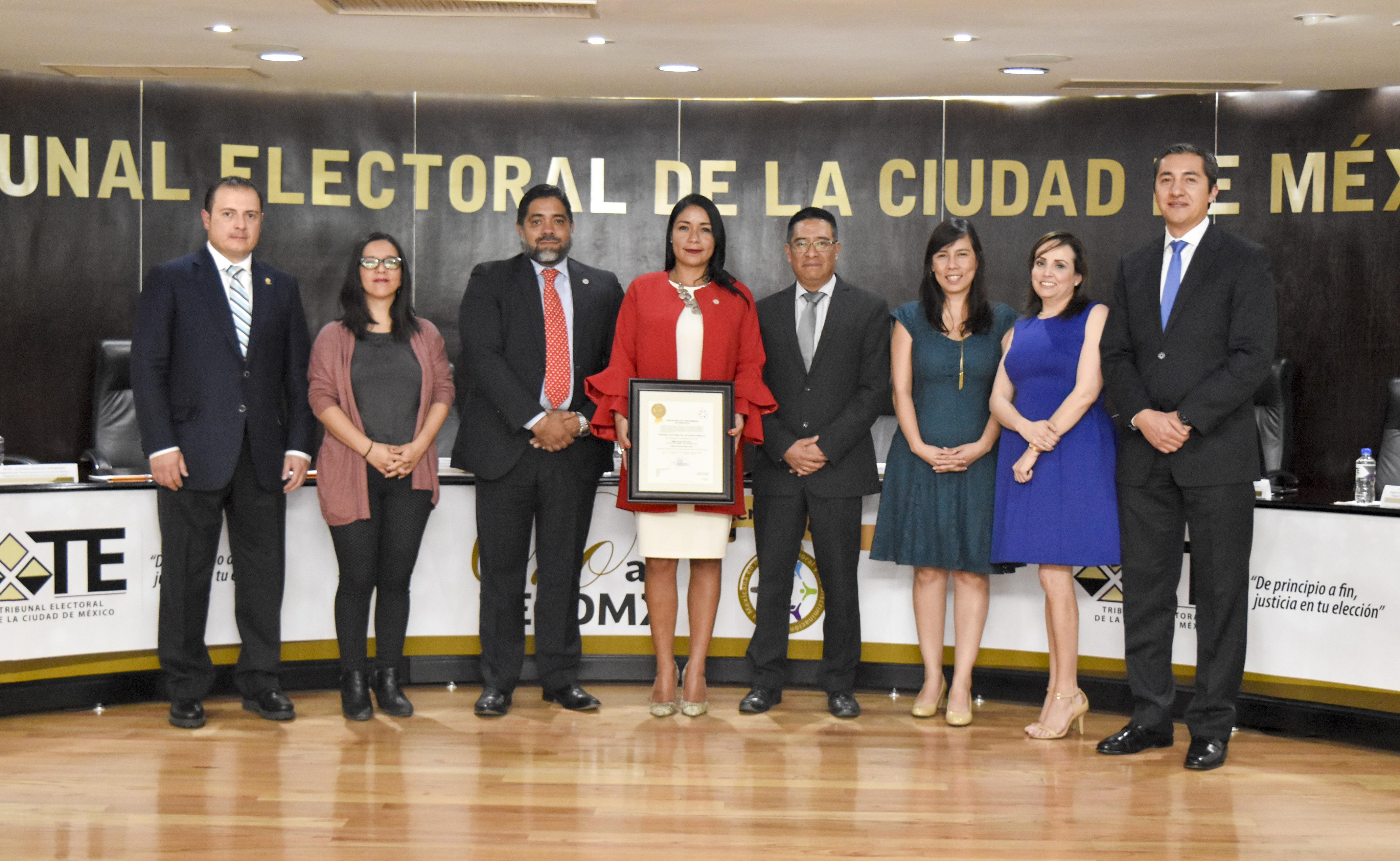 Recibe TECDMX Certificación nivel Oro en la Norma en Igualdad Laboral y No Discriminación