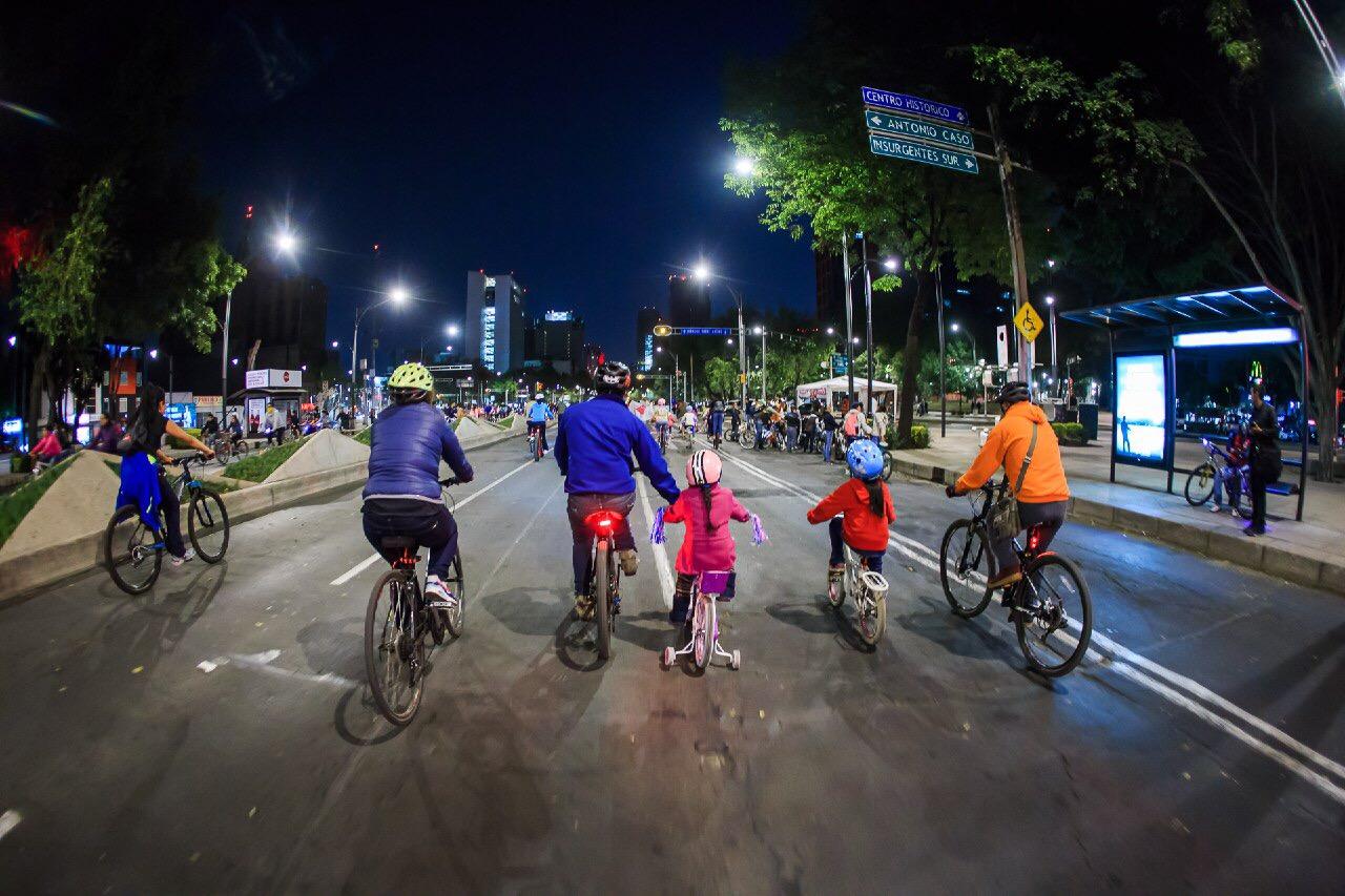 Celebrará CDMX mes de amor y amistad en bicicleta