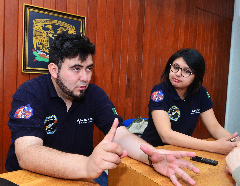 ALUMNOS DE LA UNAM PARTICIPARON EN MISIÓN ANÁLOGA A MARTE EN EL DESIERTO DE UTAH