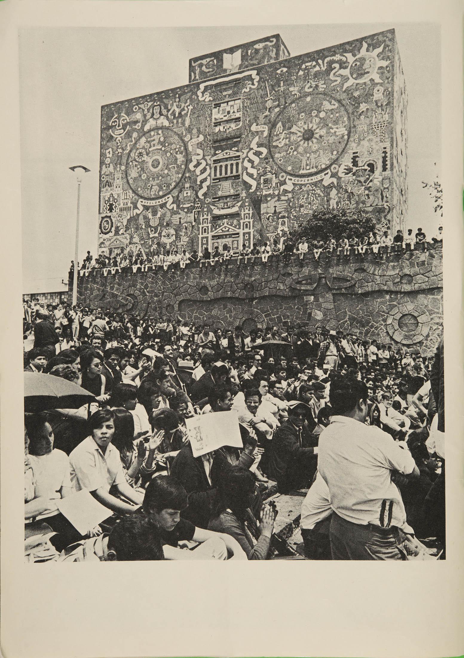 LA UNAM PONDRÁ EN LÍNEA SUS ARCHIVOS HISTÓRICOS SOBRE EL MOVIMIENTO DEL 68