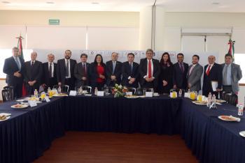 Busca IECM alianza estratégica con sector empresarial, para promover voto informado