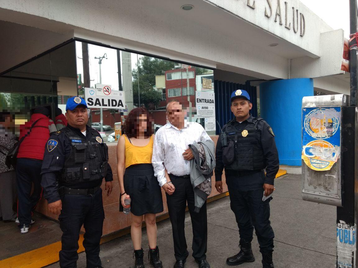 POLICÍAS DE LA SSP-CDMX EVITAN SUICIDIO DE UNA MUJER EN LA DELEGACIÓN CUAUHTÉMOC