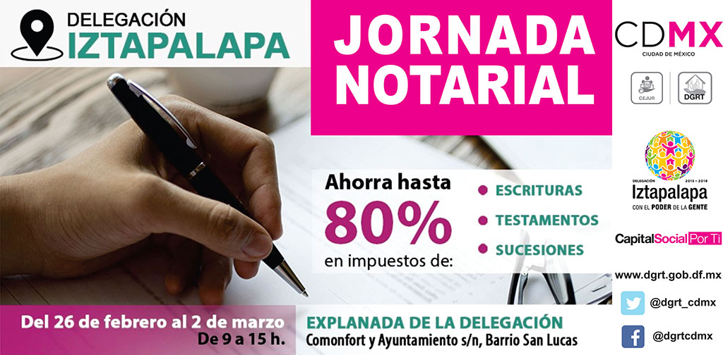Arranca Jornada Notarial en Iztapalapa