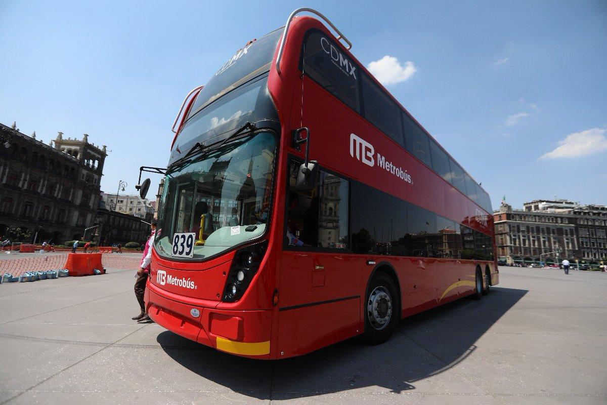 Servicio gratuito en Línea 7 del Metrobus