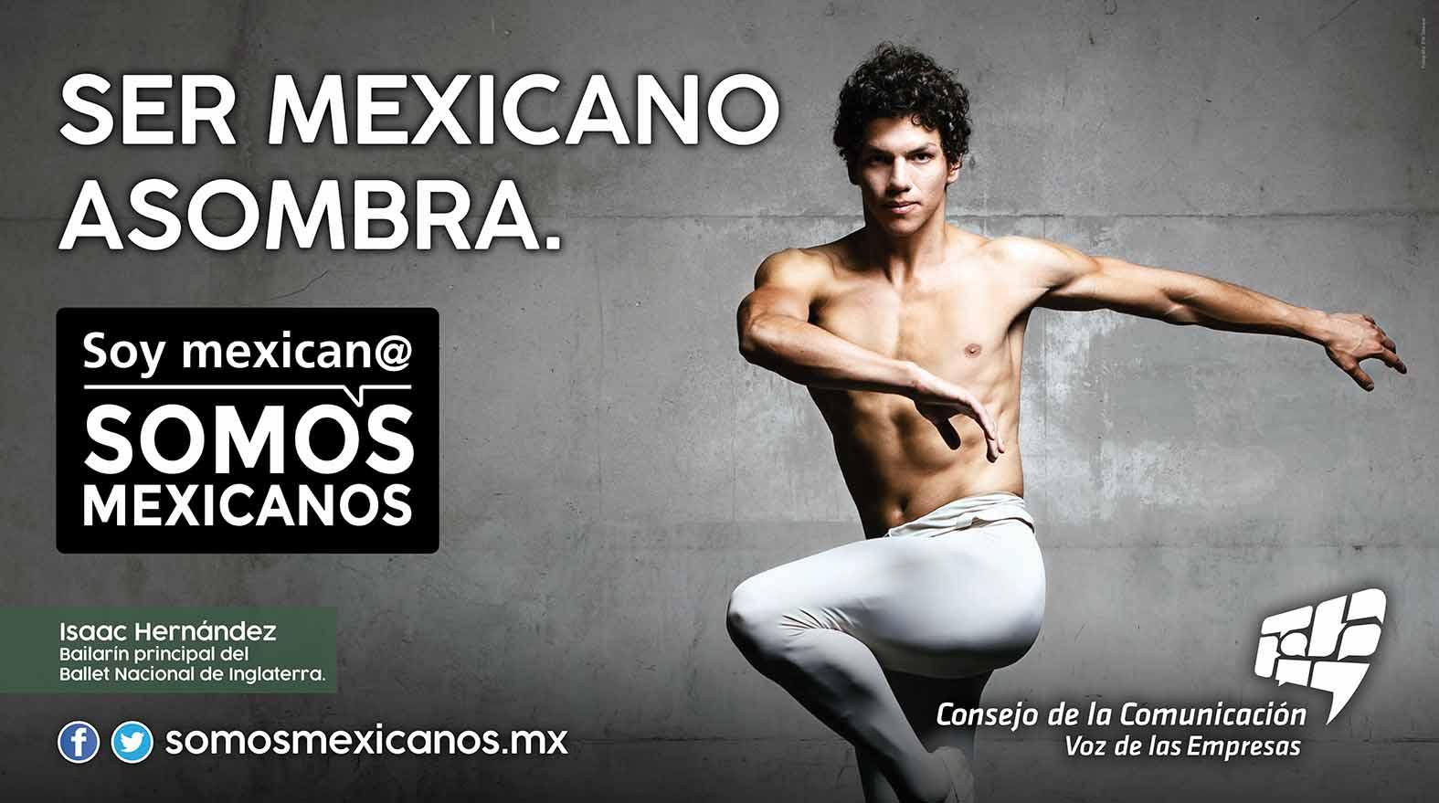 Ser mexicano asombra: Soy Mexican@, Somos Mexicanos