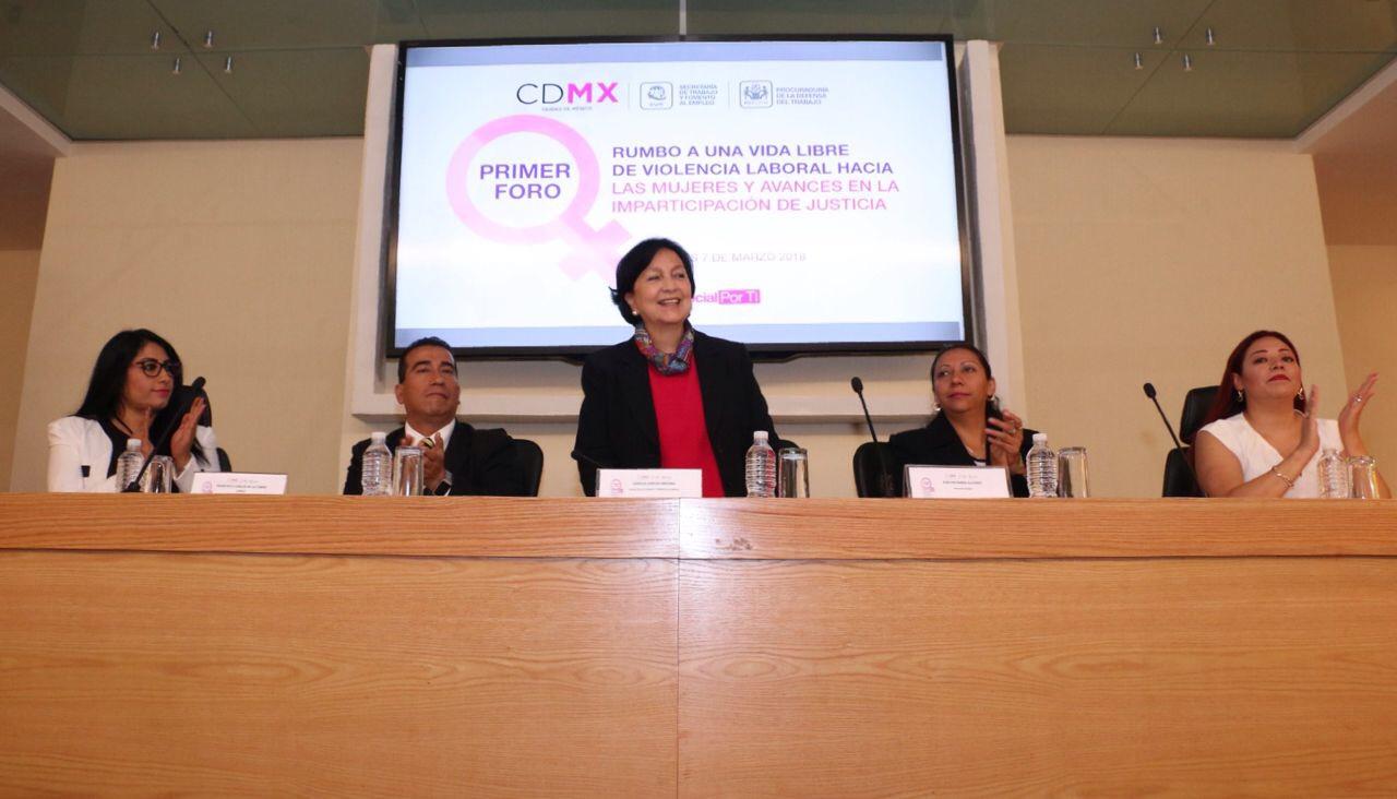 Presenta CDMX protocolo contra acoso y hostigamiento laboral y/o sexual