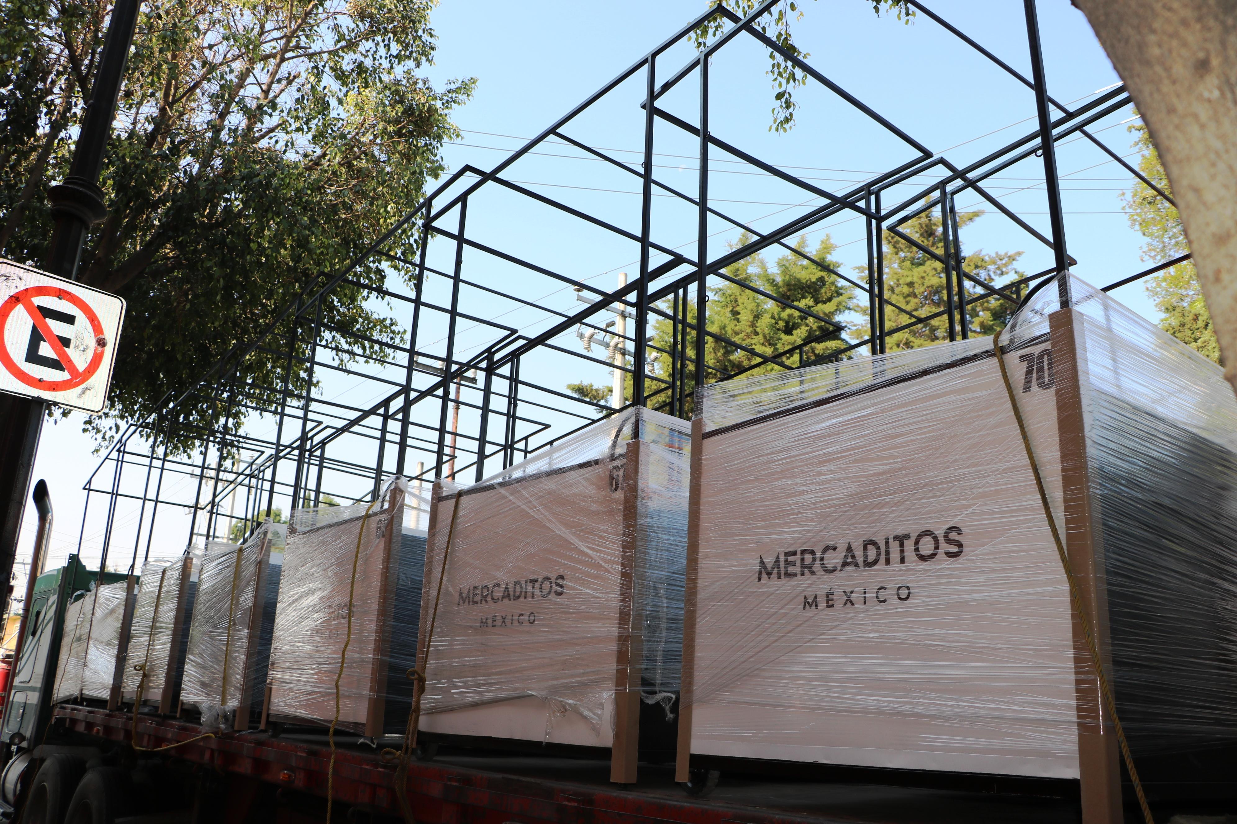 MERCADITOS MÉXICO, PROGRAMA EN BENEFICIO DE PRODUCTORES ARTESANALES EN XOCHIMILCO