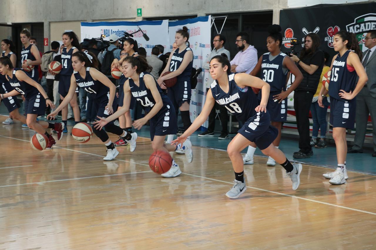 Por primera vez en México, Campamento de NBA Academy Femenil