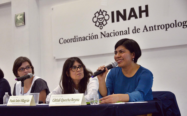 Buscan generar un grupo de trabajo sobre la antropología mexicana femenina