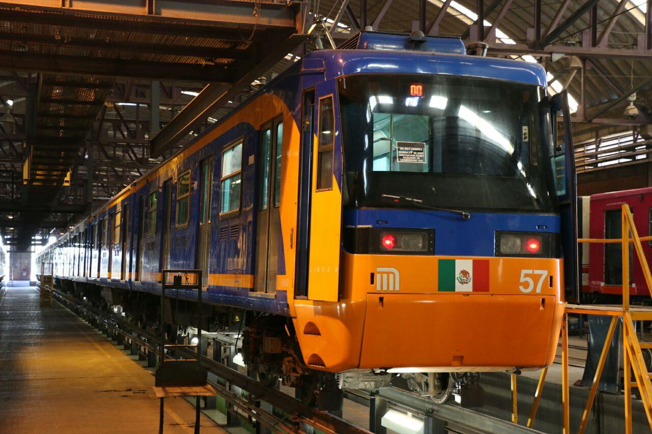 Supervisa STC avances en reconversión de trenes en Línea A